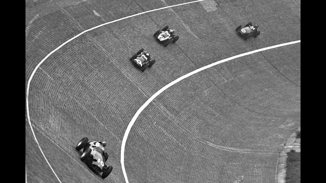 Schell - Trintignant - McLaren - Graham Hill - Avus 1959