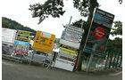 Schilder - GP Belgien - 25. August 2012