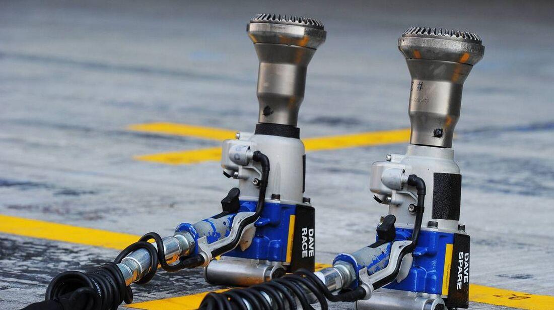 Schlagschrauber - Formel 1 - GP Abu Dhabi - 01. November 2012