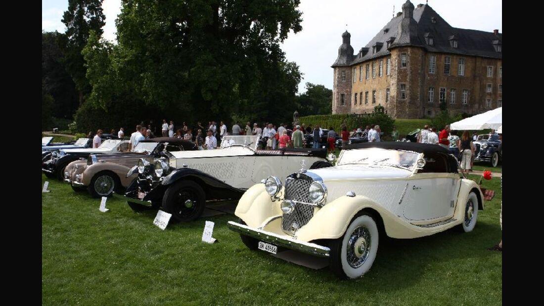 Schloss Dyck Classic Days 2009: Concours d'Elegance