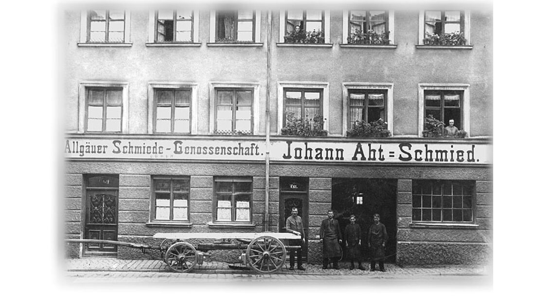Schmiede von Johann Abt