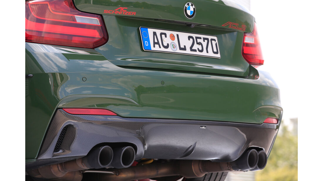 Schnitzer-BMW ACL2, Endrohre