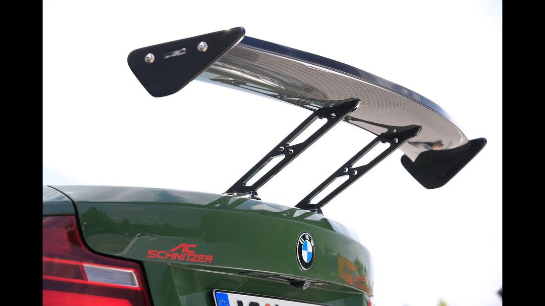 Schnitzer-BMW ACL2, Heckflügel