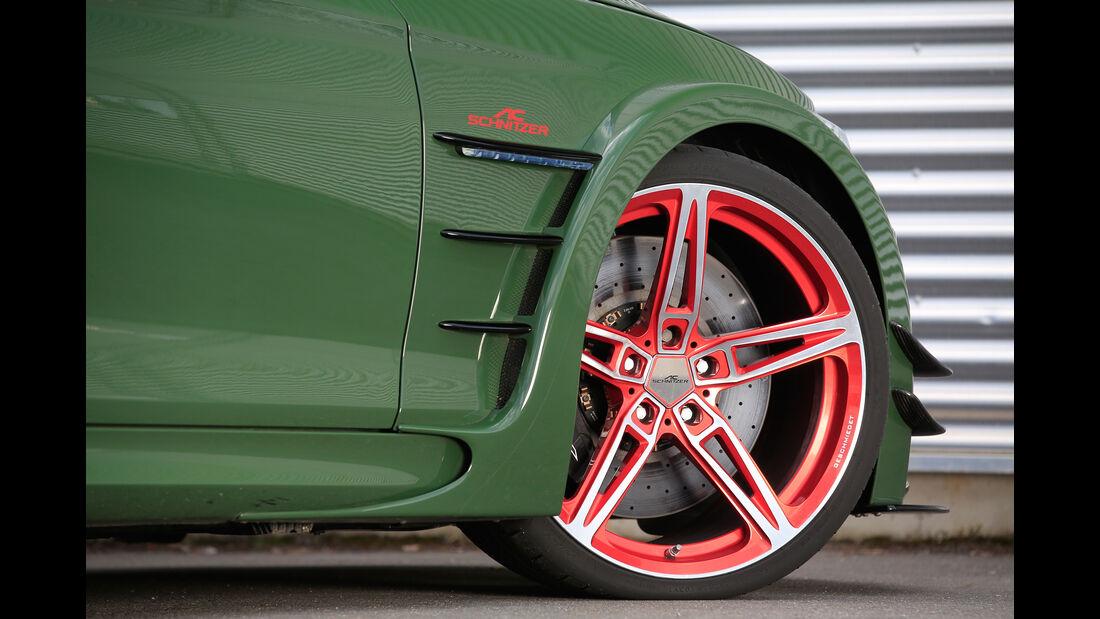 Schnitzer-BMW ACL2, Rad, Felge, Bremse
