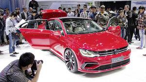 Schon die Automesse in Peking zeigte, dass deutsche Autos in China sehr begehrt sind.
