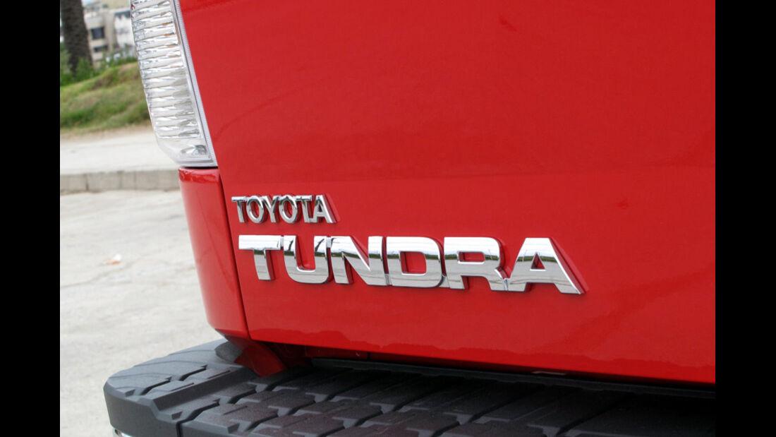 Schriftzug Pick-Up Toyota Tundra