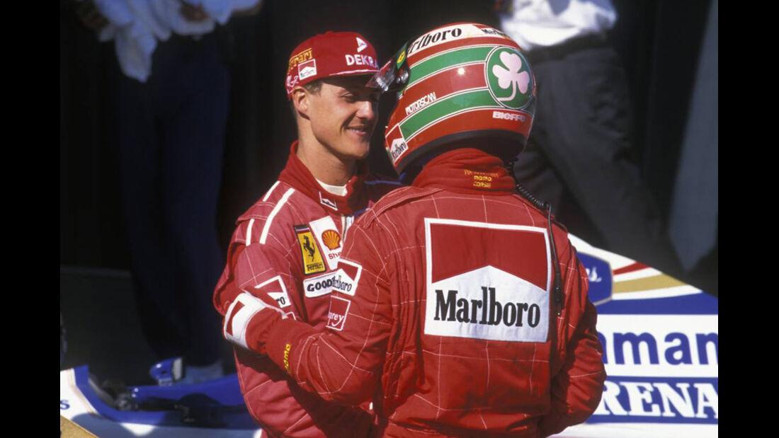 Schuamcher Irvine 1996