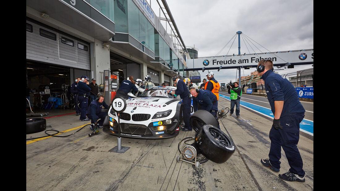 Schubert BMW Z4 GT3 - 24h Qualirennen - Nürburgring Nordschleife - 06. April 2014