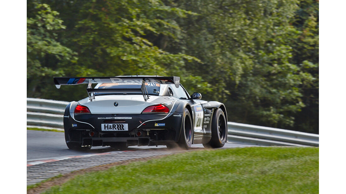 Schubert BMW Z4 GT3  - VLN Nürburgring - 6. Lauf - 2. August 2014