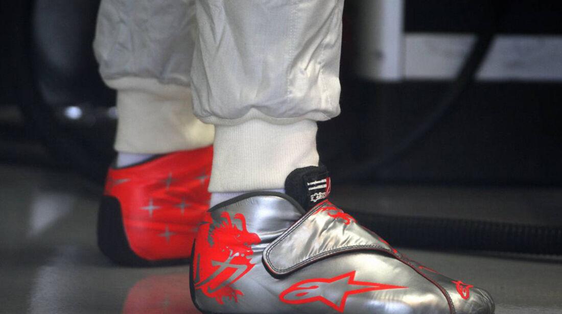 Schuhe von Michael Schumacher