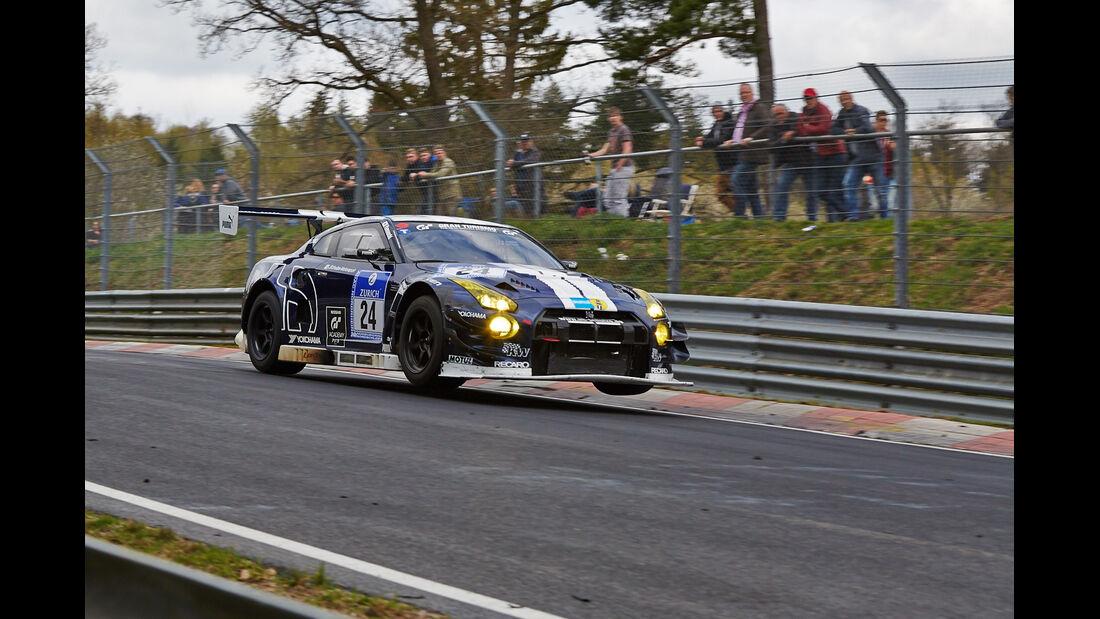 Schulze Motorsport #24 Audi R8 LMS ultra - 24h Qualirennen - Nürburgring Nordschleife - 06. April 2014