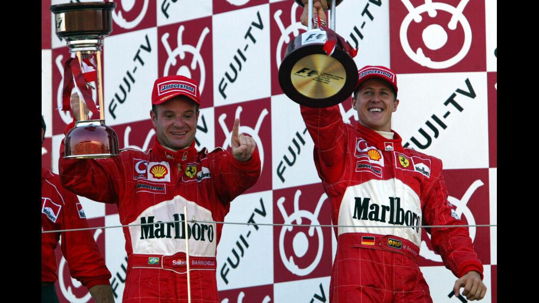 Schumacher 2002 GP Japan