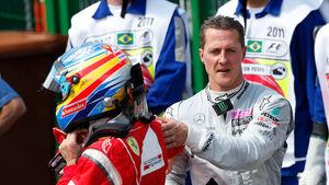Schumacher & Alonso - 2013