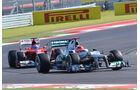 Schumacher & Alonso - Formel 1 - GP USA - Austin - 17. November 2012