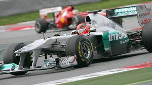 Schumacher & Alonso