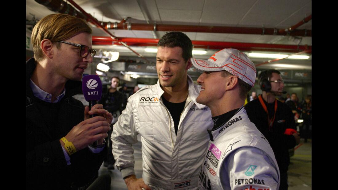 Schumacher & Ballack Race of Champions 2011