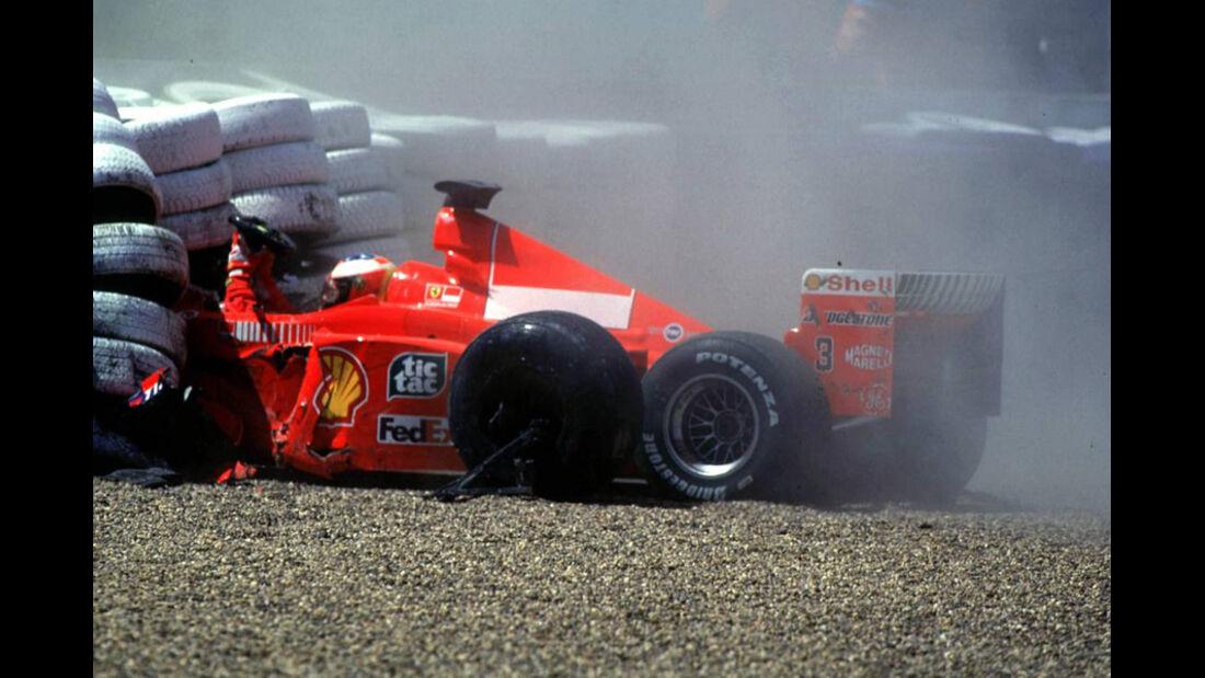 Schumacher Crash 1999