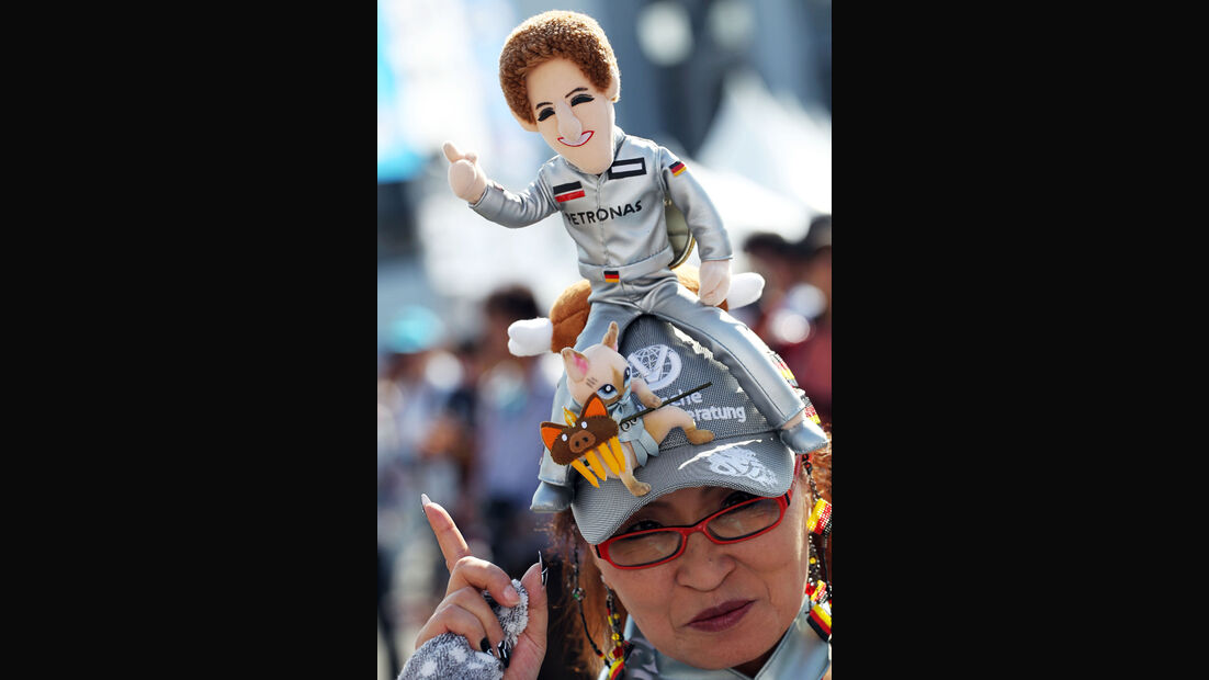 Schumacher-Fan - Formel 1 - GP Japan - 12. Oktober 2013