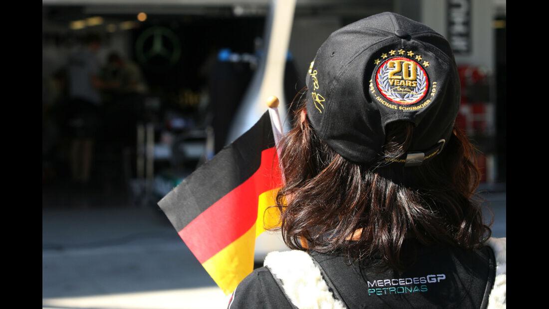 Schumacher-Fan - GP Japan - Suzuka - 6. Oktober 2011
