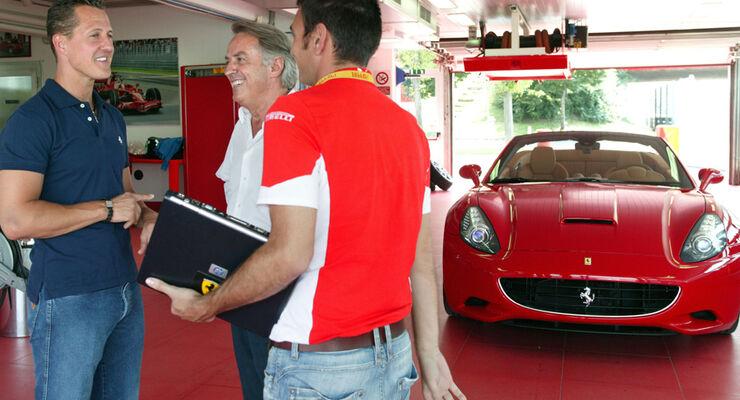 Schumacher Ferrari California