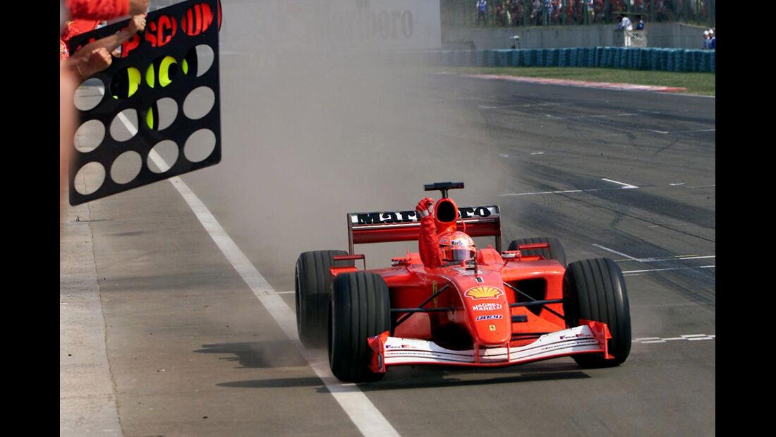 Schumacher - Ferrari - GP Ungarn 2001