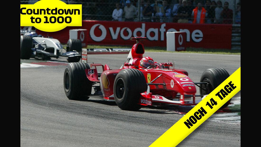 Schumacher - Ferrari - Montoya - Williams