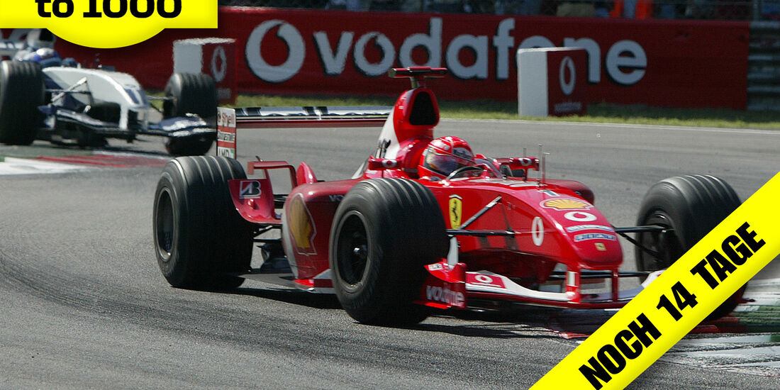 Schumacher - Ferrari - Montoya - Williams