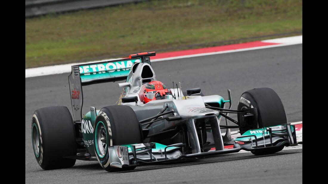 Schumacher - Formel 1 - GP China - 13. April 2012