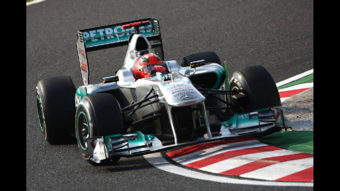 Schumacher  - Formel 1 - GP Japan - 07. Oktober 2011