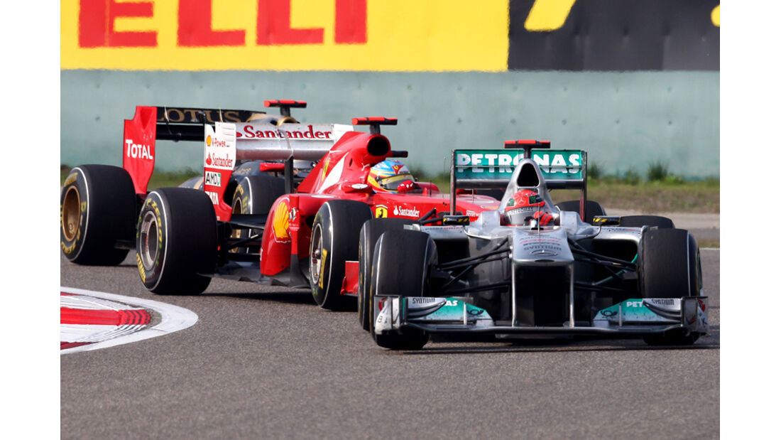 Schumacher GP China 2011