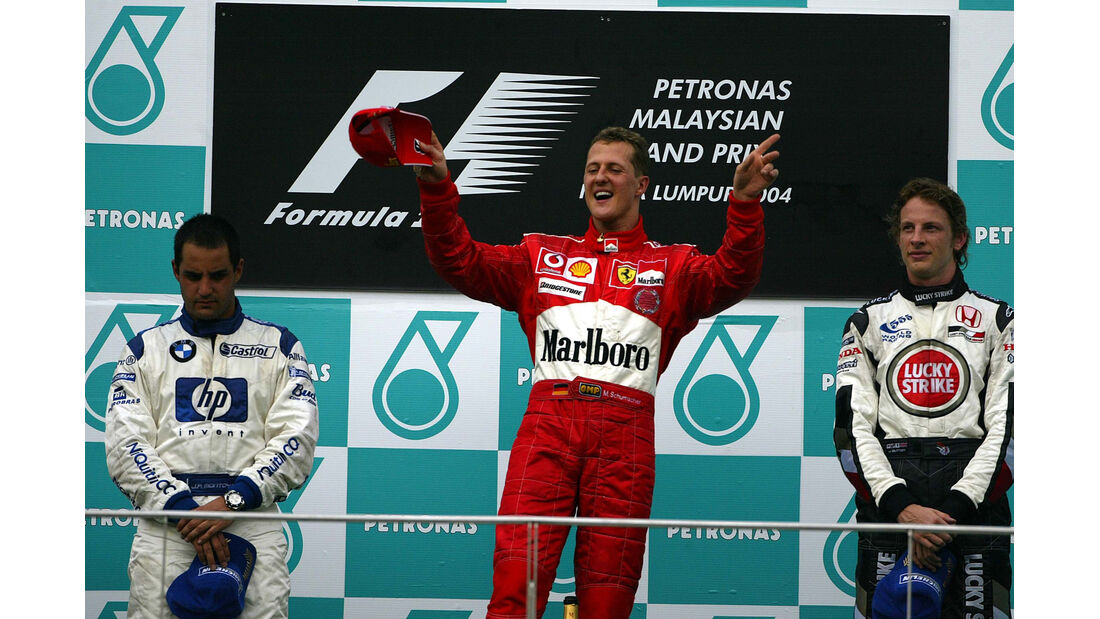 Schumacher GP Malaysia 2004