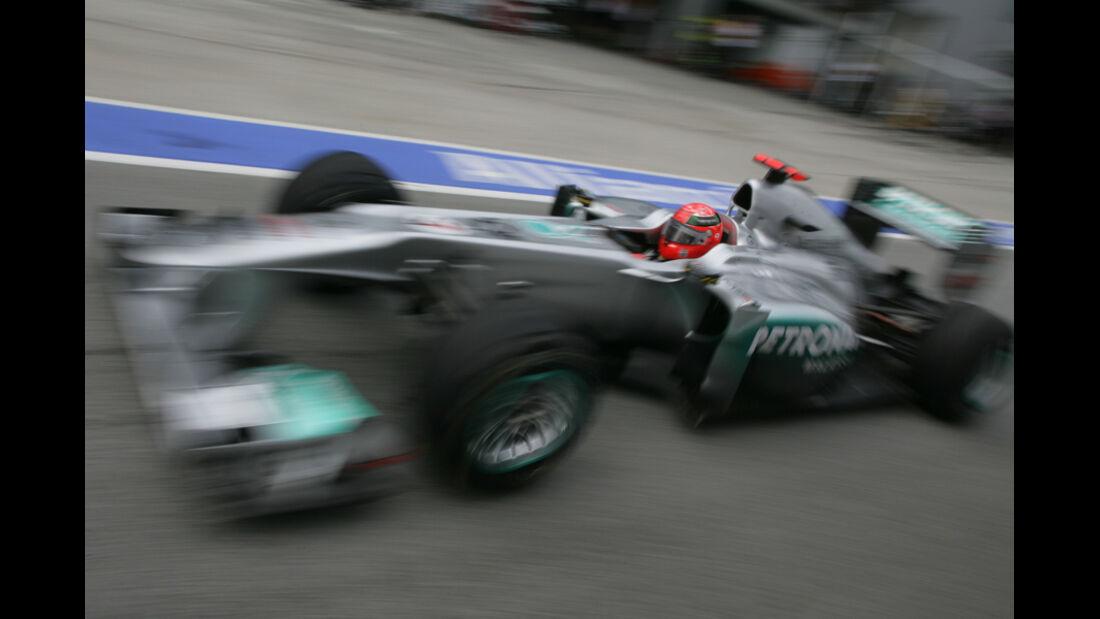 Schumacher GP Malaysia 2011