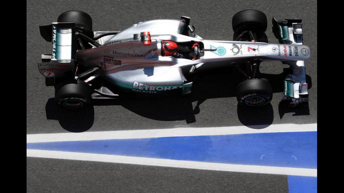 Schumacher GP Spanien 2011