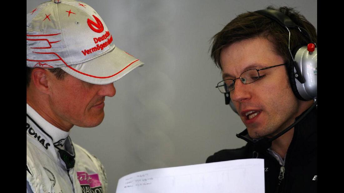 Schumacher GP Türkei 2011