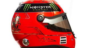 Schumacher Helm 2011