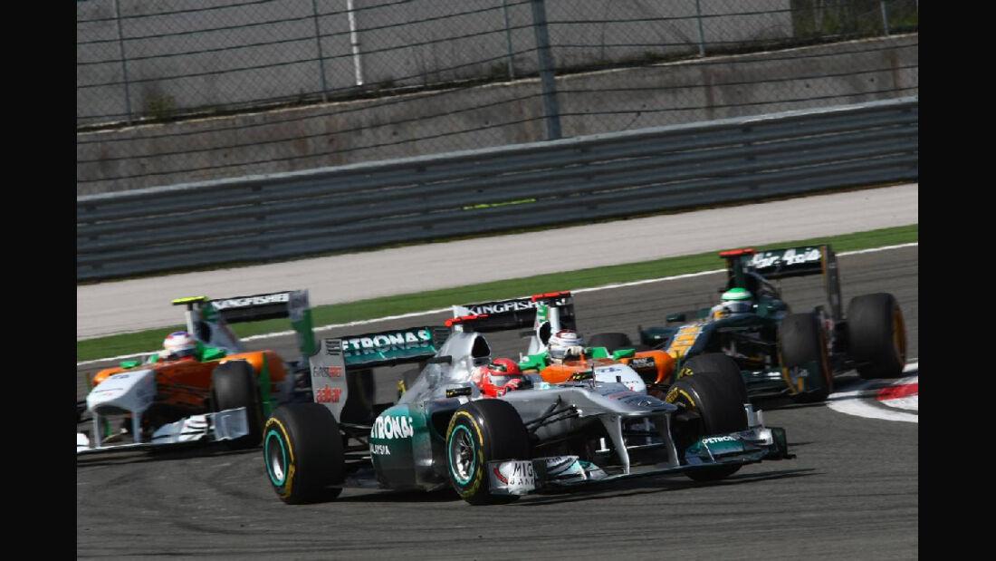 Schumacher Impressionen GP Türkei 2011