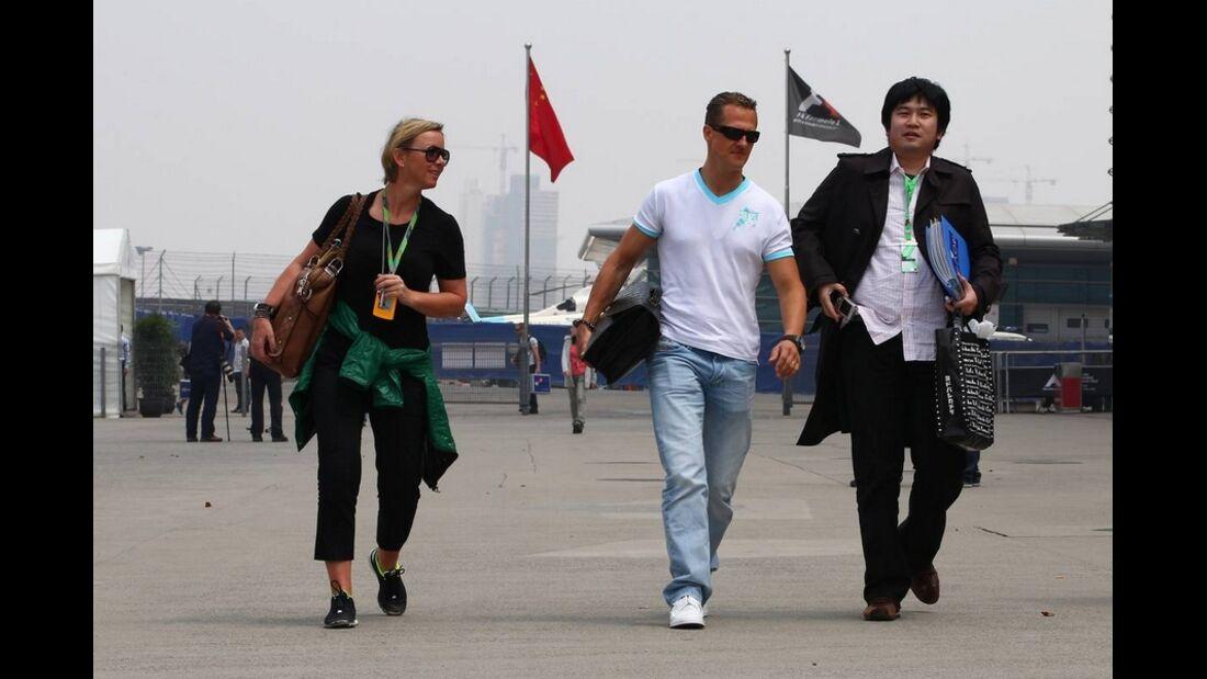 Schumacher Kehm Formel 1 GP China 2011