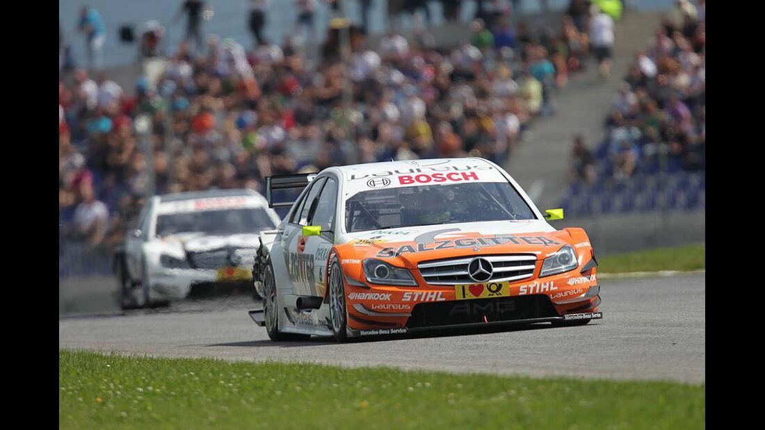 Schumacher, Mercedes C-Klasse DTM, DTM, Spielberg, 2011