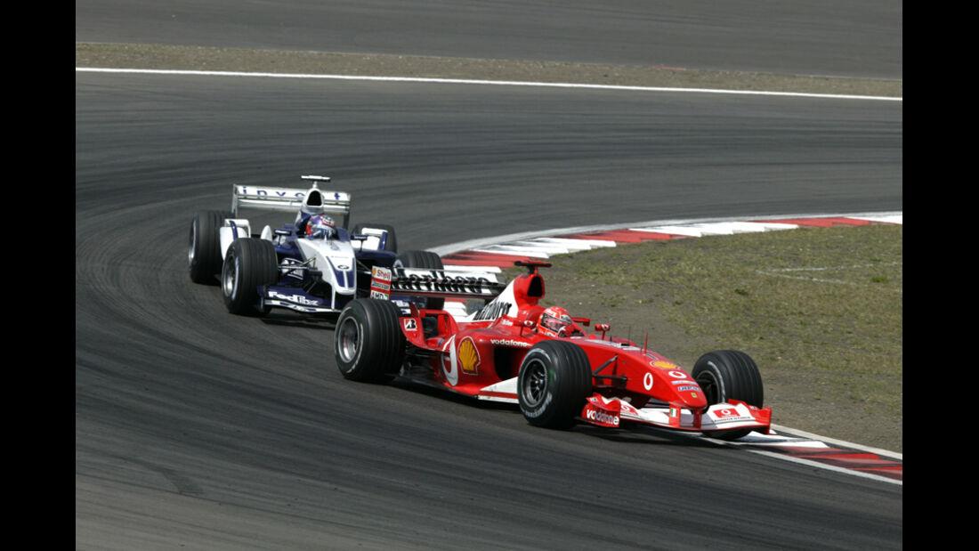 Schumacher Montoya GP Europa 2003