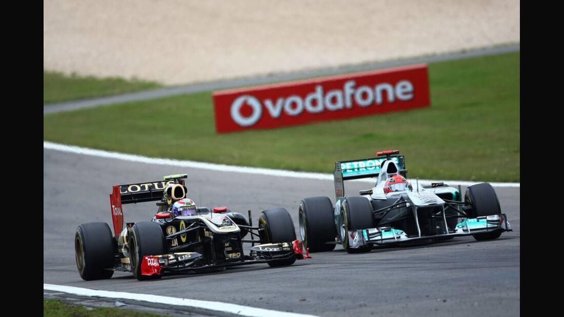 Schumacher Petrov GP Deutschland 2011