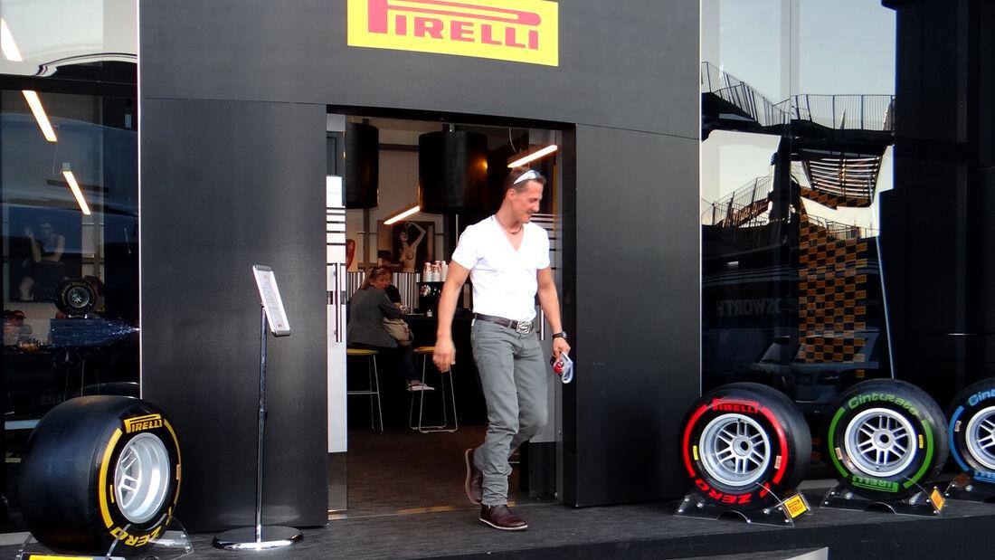 Schumacher Pirelli Mugello Test Formel 1 2012