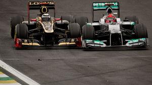 Schumacher & Räikkönen GP Brasilien 2012