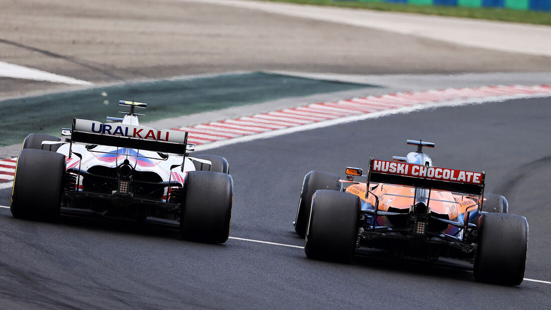 Schumacher & Ricciardo - Formel 1 - GP Ungarn - 2021