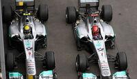 Schumacher Rosberg GP Deutschland 2011
