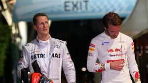 Schumacher & Vergne - Formel 1 - GP Singapur  2012
