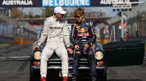 Schumacher & Vettel GP Australien 2012