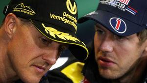 Schumacher & Vettel