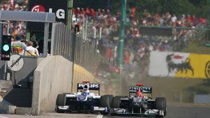 Schumacher und Barrichello