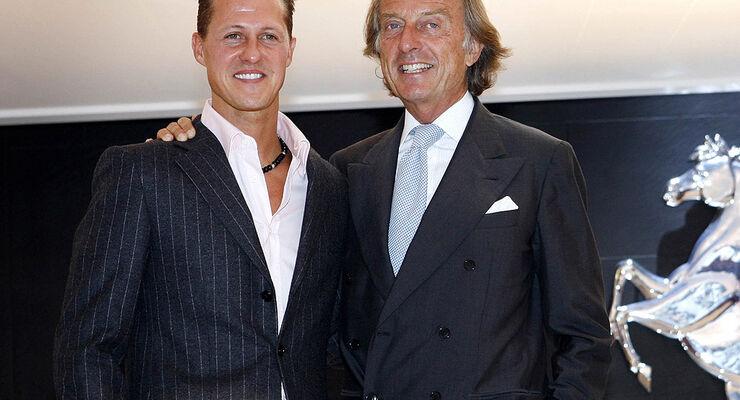 Schumacher und di Montezemolo
