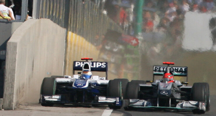 Schumacher vs. Barrichello